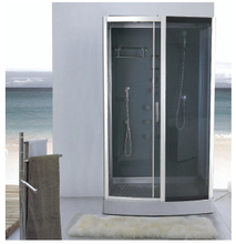 Glass block shower enclosures & shower sliding doors