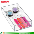 Small & simple clear acrylic makeup cosmetic display wholesale