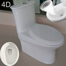 sanitary ware vortex flushing wc toilet , bathroom Siphon 4D Flushing Chinese Toilet