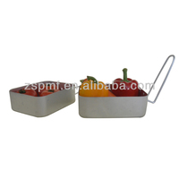 Convenient good price stainless steel folding toaster
