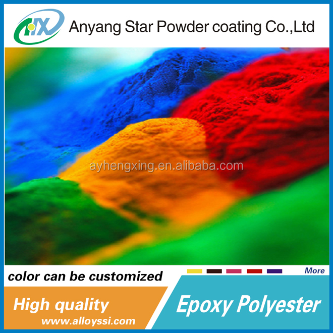 Anyang epoxy polyester Powder home Hot sale Antique Effect Artwork Painting Thermoplastic Powder Paint For Electrostatic Spray