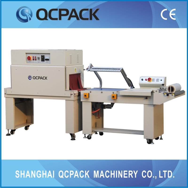Japan quality semi automatic shrink film package machine