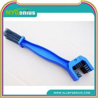 Essential blue bike cycling motorcycle bicycle chain brush cleaner cleaning tool ,H0T7n plastic scrubber brush