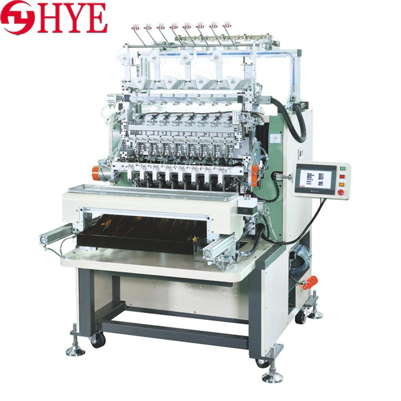 Eight - axis winding machine - transformer coil winding machine - automatic winding machine