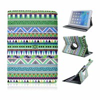 2014 New Innovation Aztec PU Leather Stand Cover Case for iPad Air