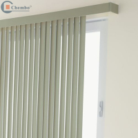 China vertical blind/motorized track vertical blind