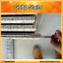 natural prefab granite stairs