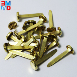 Fancy decorative gold mini 25mm metal file clips paper fastener