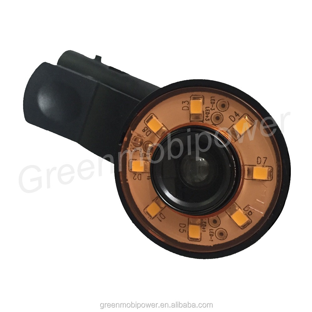 LED Flash Fill Light with fisheye