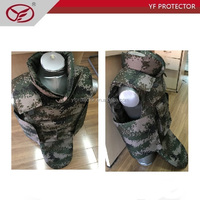 Body Protection/Full body armor suit/NIJ Kevlar tactical bulletproof vest
