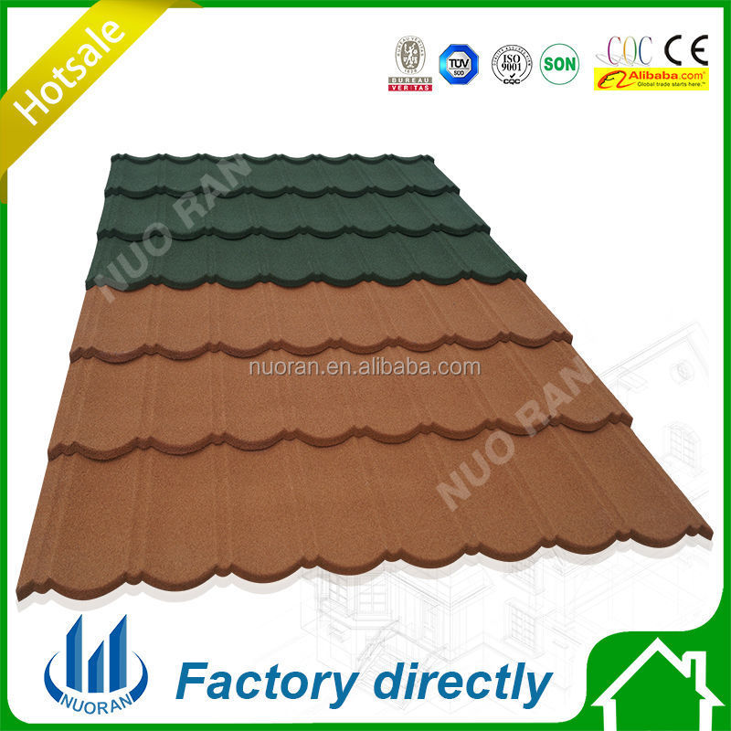 Chinese Style Aluminum Stone Coated Metal Roofing Tile,Made in China,Factory Direct Germany Supply
