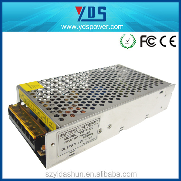 china gold supplier variable dc power supply 120W 12V 10A high voltage power supply