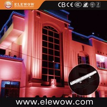 High quality led wall washer dmx rgb outdoor led flood light