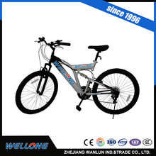 New cool bike with suspension and auxiliary wheel for 13-18 years old kids