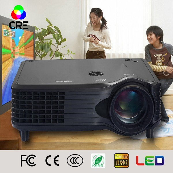 Alibaba export government tender portable office blue film video home theater short throw lens China 3d school projector