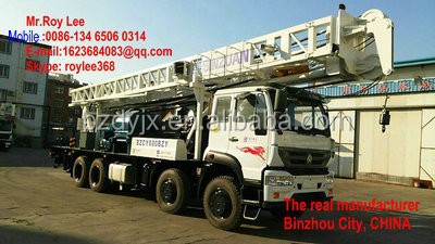 water well drilling rigs / piling rigs BZC-600CCA