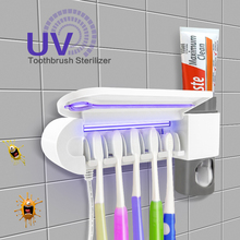 toothbrush UV sterilizer wall-mounted toothbrush sanitizer