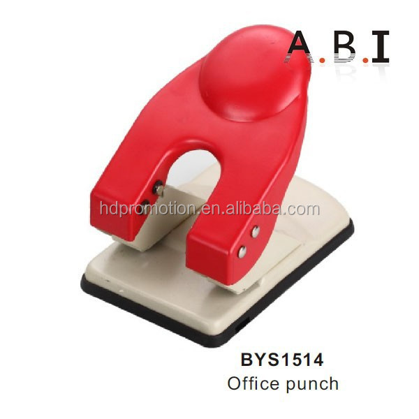 2 hole office plastic stationery hand hold punch
