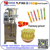 YB-330Y Automatic Grade and Plastic Packaging Material liquid ice lolly pouch packing machine