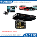 User Manual HD720P Car DVR Video Recorder with GPS Radar Detector K KA Band 3 in 1