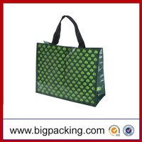 Recycle Material All Kinds Of Green PP Woven Bag Factory Supplier Polypropylene Bag Green PP Woven Bag For Promotional