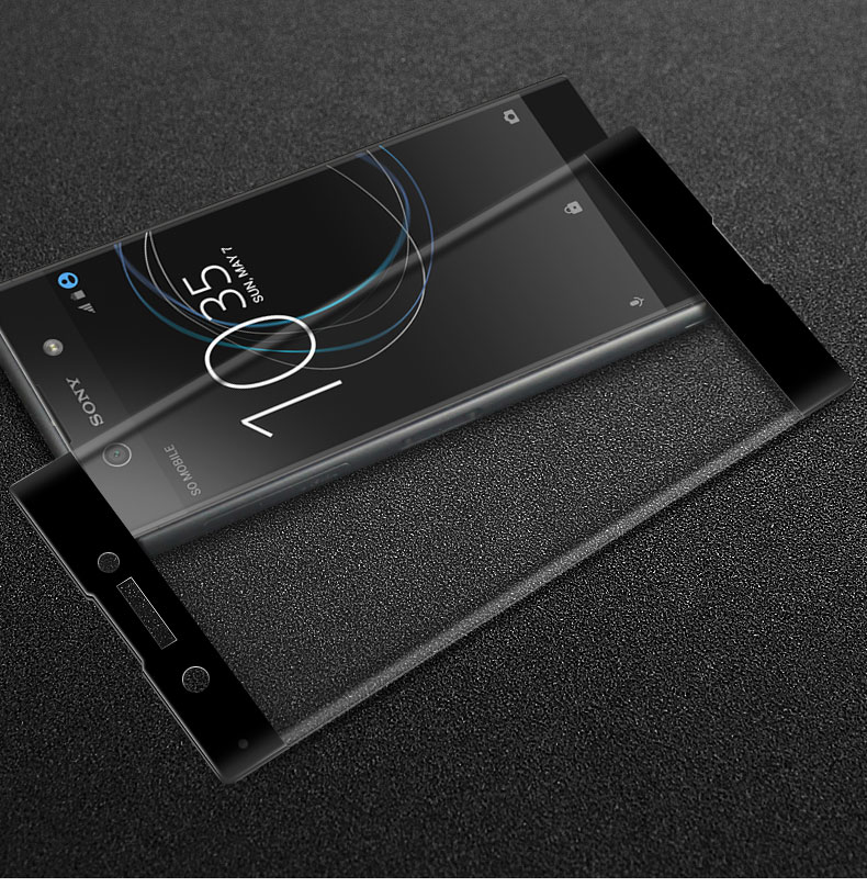 IMAK for Sony Xperia XZ Premium E5563 Full Screen Coverage 3D Curved Surface Tempered Glass Screen Protector for Sony Xperia XA1