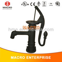 cast iron shallow well hand pump/hand operated water pump