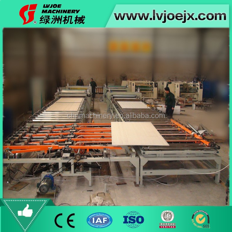 single side type plaster board lamination production line