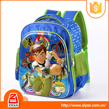 Shoulder decompression blue cool boys kindergarten cheap school backpacks