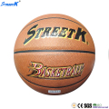 2016 STREETK wholesale baketball ball high quality basketball pu basketball