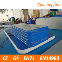 5x2x0.2 Top sale!! inflatable air track gymnastics/inflatable gym mat