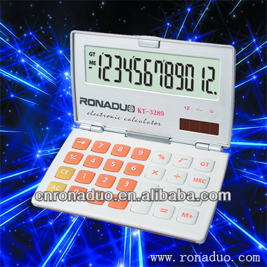 mini calculator with flip cover RD-3289 12 digit electronic calculator! electronic cheap gift calculator
