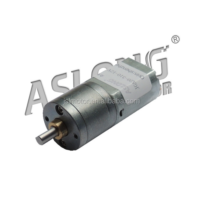 hot sale ASLONG 12-288 RPM mini electric motor with gearbox Permanent Magnet electric geared motor