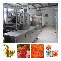 PLC Control & Full Automatic Jelly Candy Machine Production Line