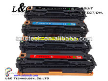 New compatible CB540/541/542/543 color toner cartridge