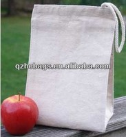 Recycled Cotton Canvas Lunch Bag with Velcro Closure(HC-A353)