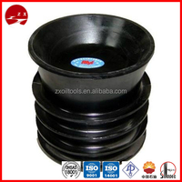 API bottom and top cementing plug,Casing cementing Rubber Plug