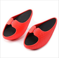Women's Stovepipe Slimming Leg Beauty Foot EVA Body Shaper Shoes Slippers Sandal
