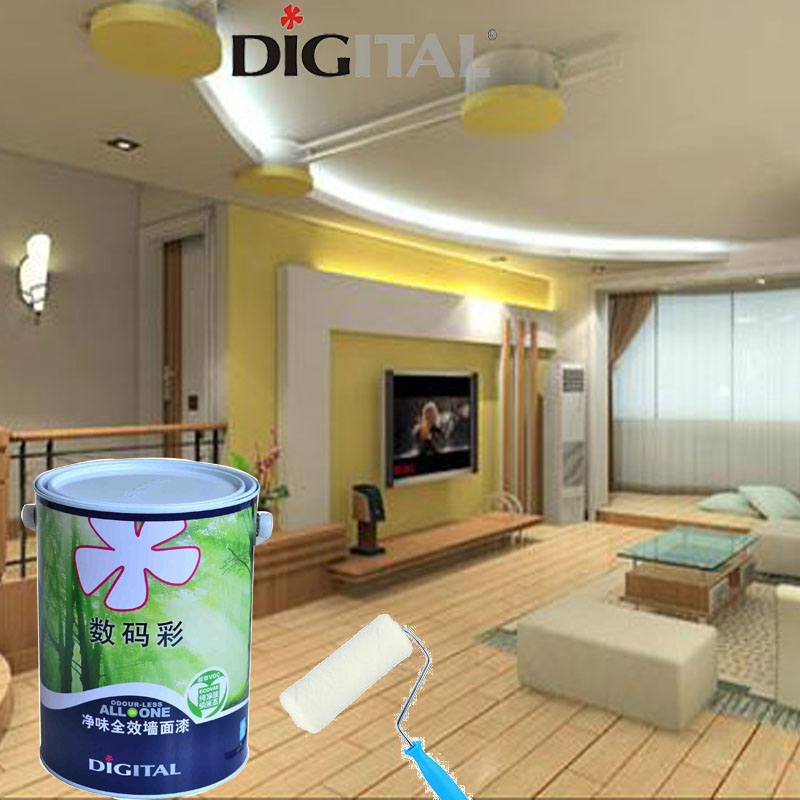 Environmental friendly low odour interior wall paint for children's room