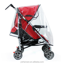 Universal Baby Stroller Raincover Pushchair Transparent Rain Cover