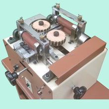 high quality belt edging machine for belt edge polishing making belt maker