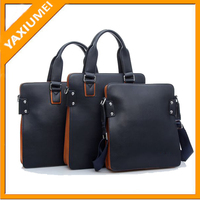 man laptop PU leather bags made in china