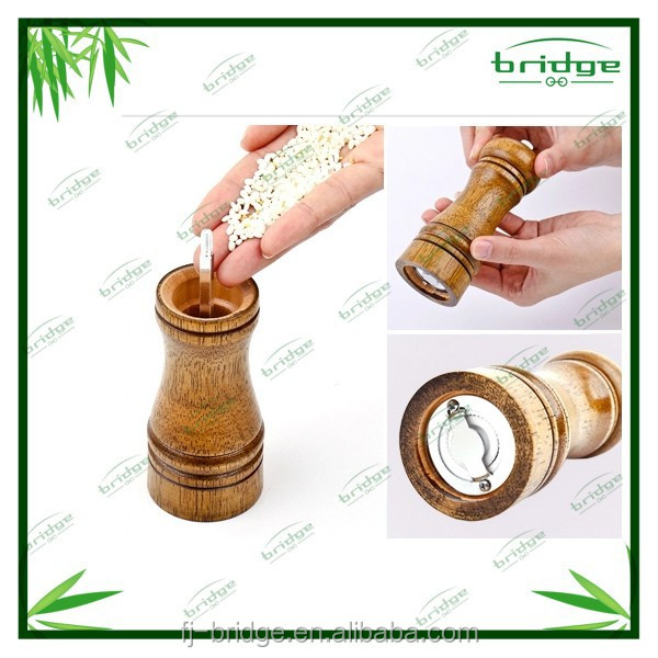 Innovations Bamboo pepper grinder