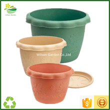 Wholesale plastic indoor and outdoor 12 inch flower pots for plants