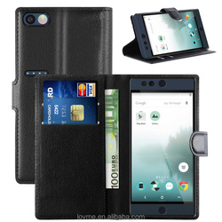 Litchi Wallet Pu Leather Phone Case For Nextbit Robin