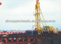 KP2500 Type Full Hydraulic borehole drilling machine used in Maonshan changjiang river bridge construction