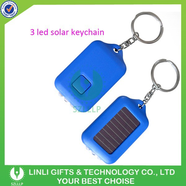 NI-MH Battery Powered Solar Keychain Torch