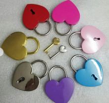 Heart Shape Padlock Double Heart Padlock Love Lock for Wish Love