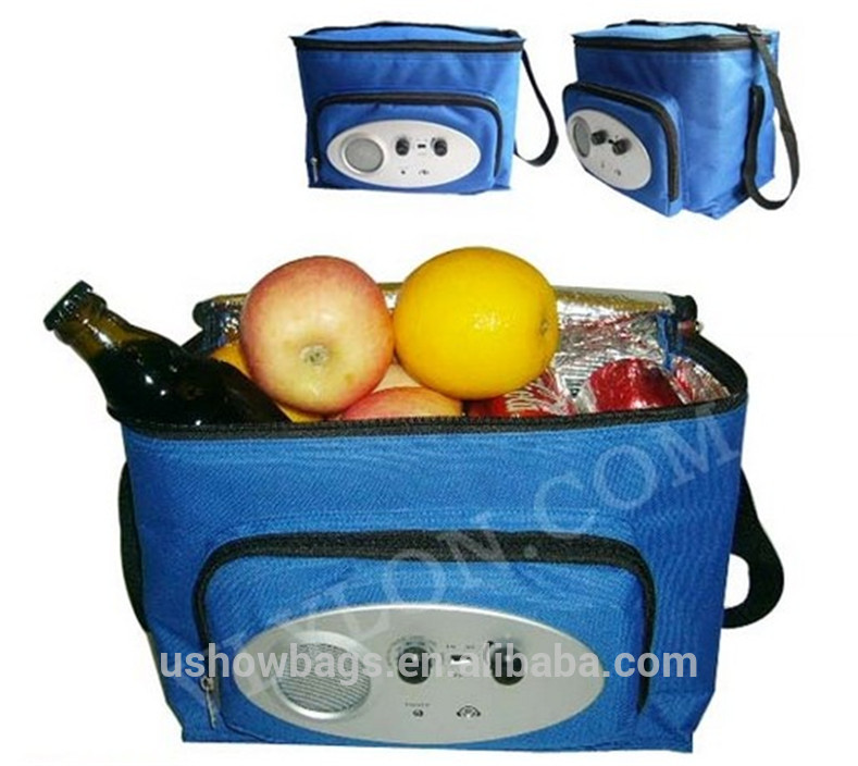 picnic and travel single shoulder cooler bag rolling cooler bag can cooler bag 6 pack