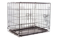 popular design Black Pen metal folding dog puppy crate training Cage Kennel